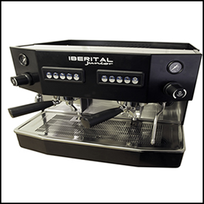 Iberital Junior Compact 2 Group Fully Automatic Espresso Machine.