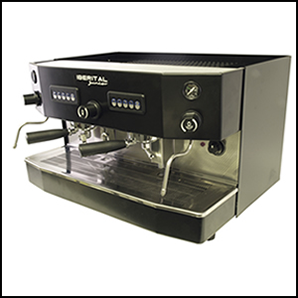 Iberital Junior 2 Group Fully Automatic Espresso Machine.
